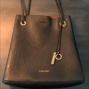 Women's Calvin Klein Leather Tote bag